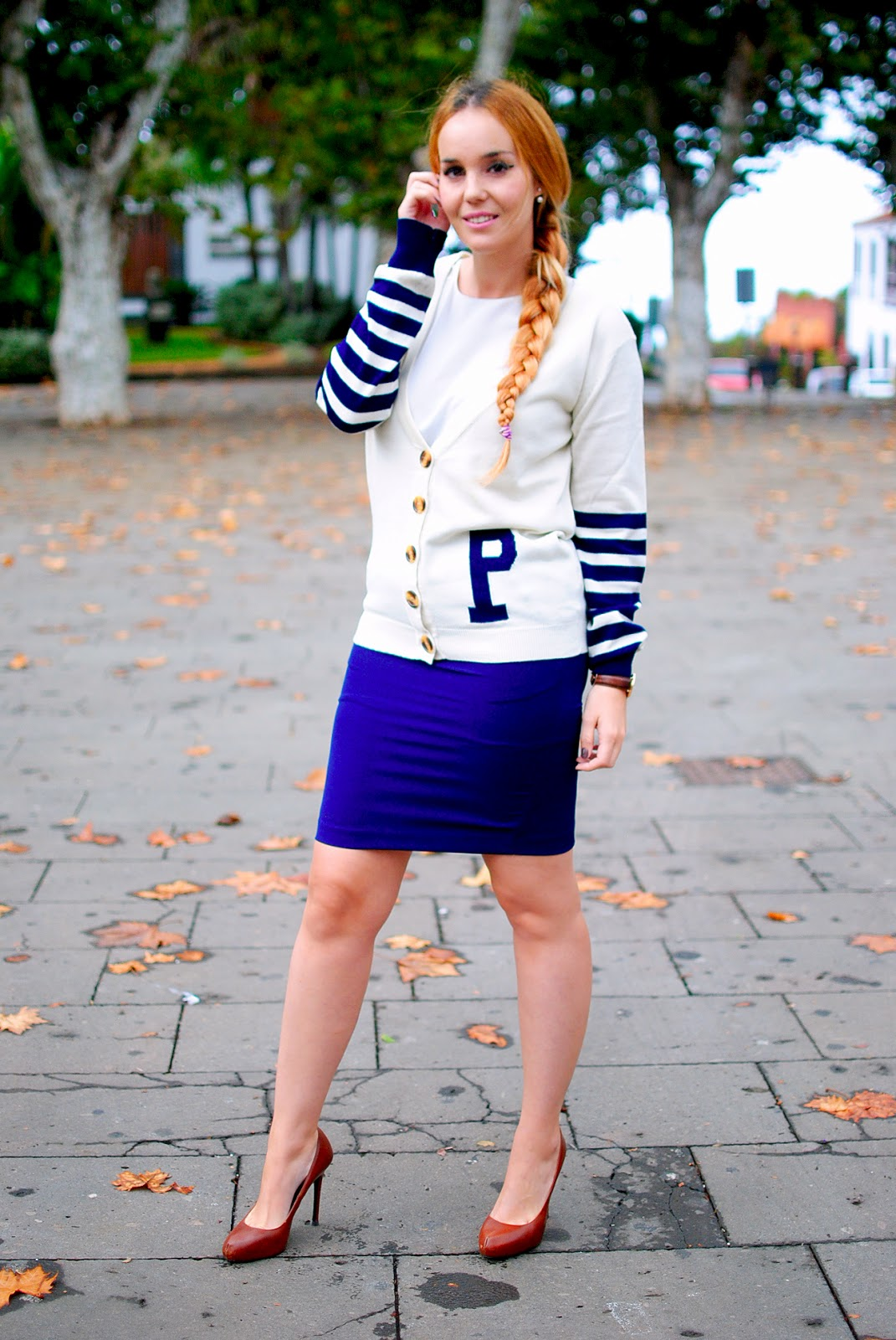 varsity girl, nery hdez,  college look , clon mise dior, luxury for princess, poppy lux