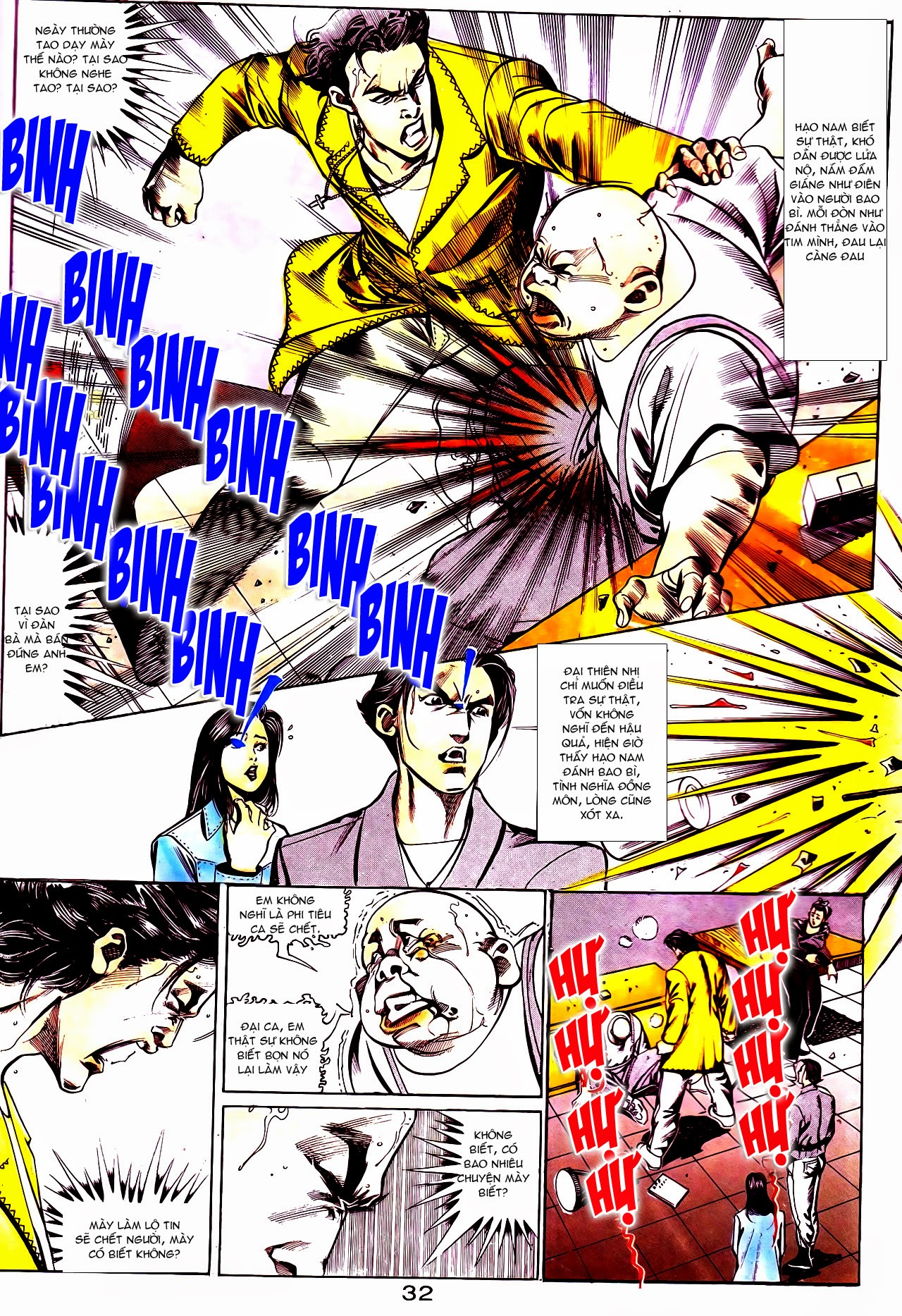 Người Trong Giang Hồ chapter 112: nhân sinh trang 3