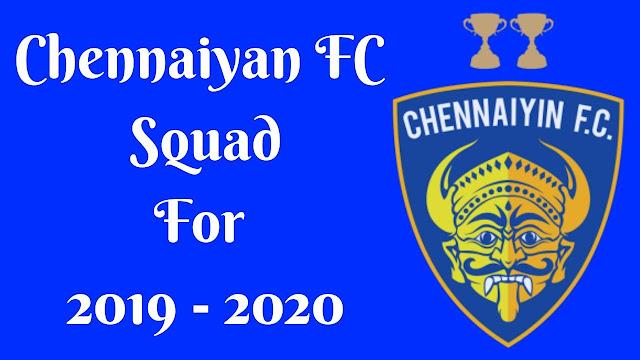 Chennaiyan FC Full Team Squad Details of 2019-2020