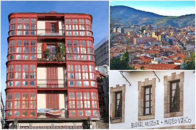 Edificio en el Casco Viejo de Bilbao – Vistas de la ciudad – Museo Vasco en Bilbao