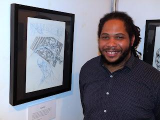 Sean Damien Hill talks about his  Black Power  exhibit