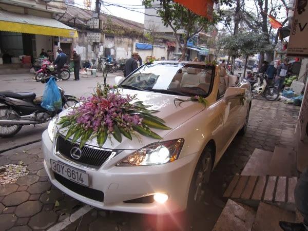 Cho thuê xe đám cưới giá rẻ tại Hà Nội