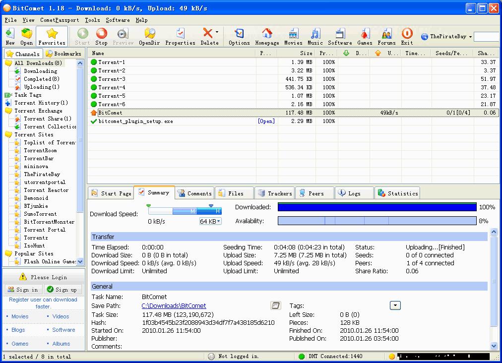 BitComet 1.58