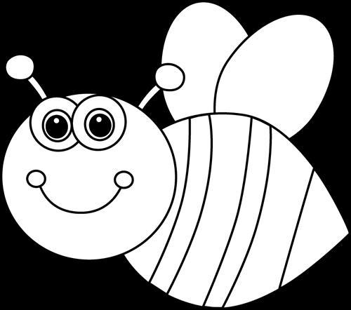 Desenhos de abelha para pintar, colorir ou imprimir