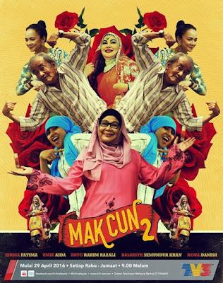 Sinopsis drama Mak Cun 2 TV3, pelakon dan gambar drama Mak Cun 2 TV3