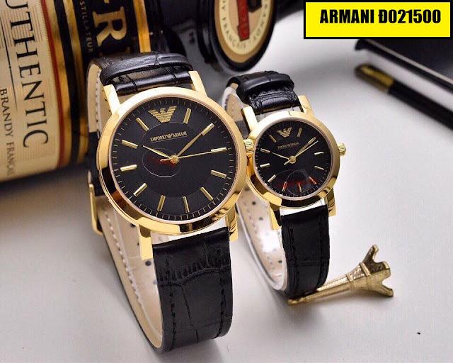 Đồng hồ dây da Armani Đ021500