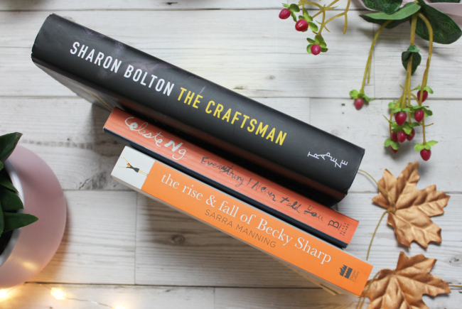 September book haul - YA fiction, thrillers and more! - www.nourishmeblog.co.uk
