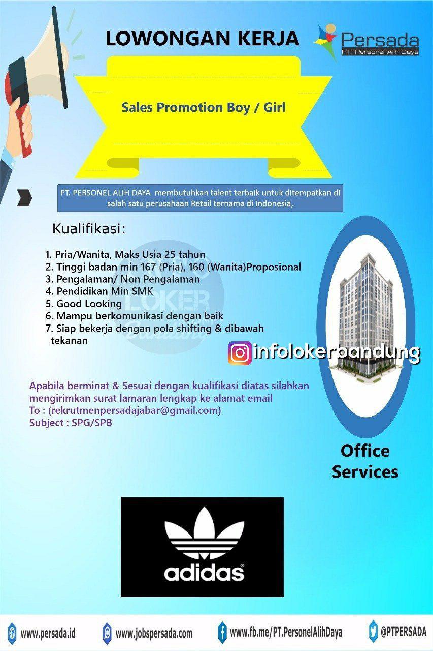 Lowongan Kerja SPG & SPB Persada Bandung Juni 2018