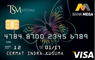 Kartu Kredit Mega TSM Ultima