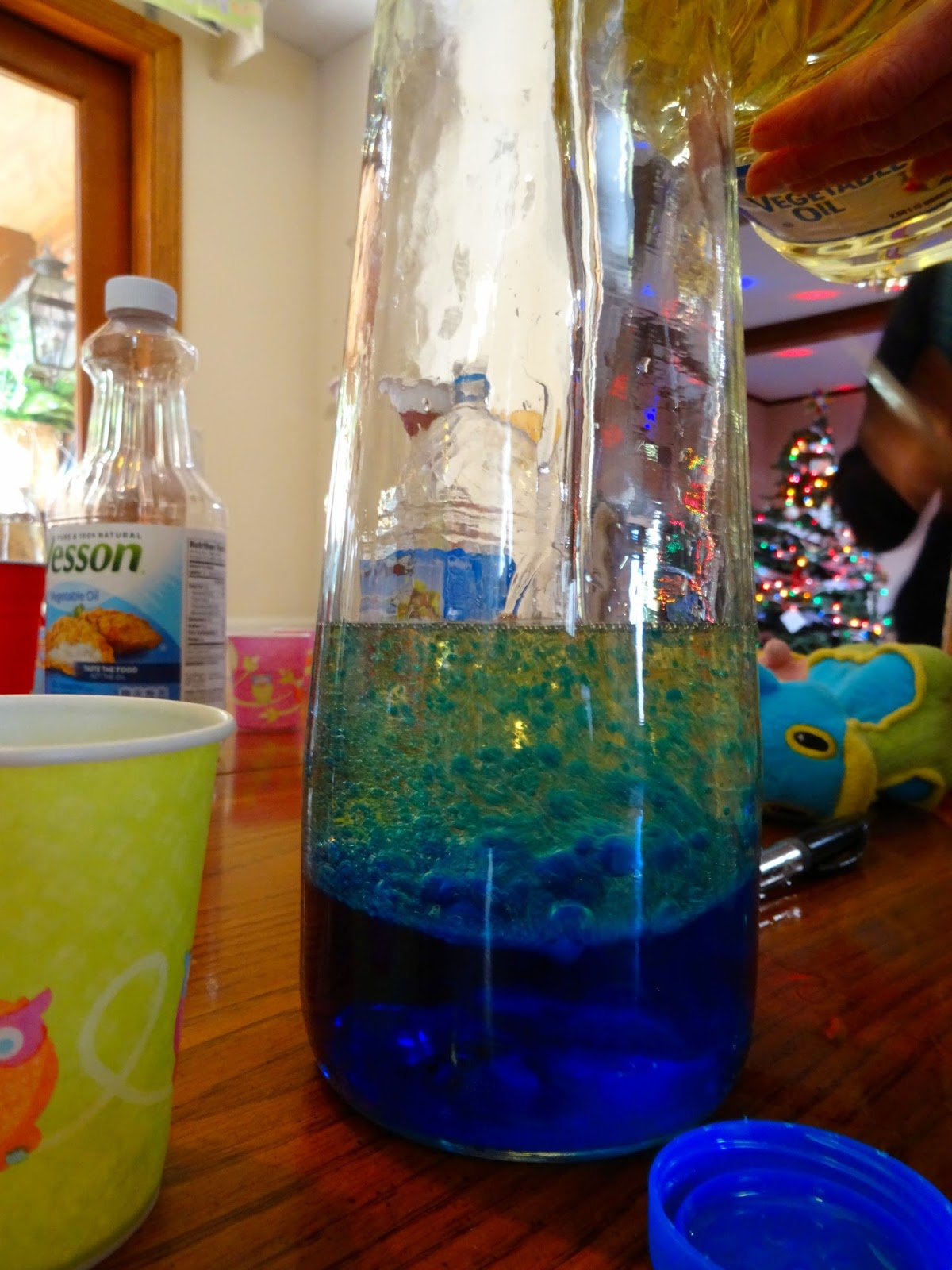 Pour The Water Into The Bottle. We Prefer Glass Over A Plastic Soda Bottle  Because Although You Have To Be More Careful With The Glass Bottle, An  Accidental ...