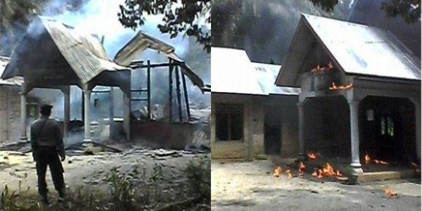 2.500 Warga Kristen Aceh Singkil Mengungsi Karena Ketakutan