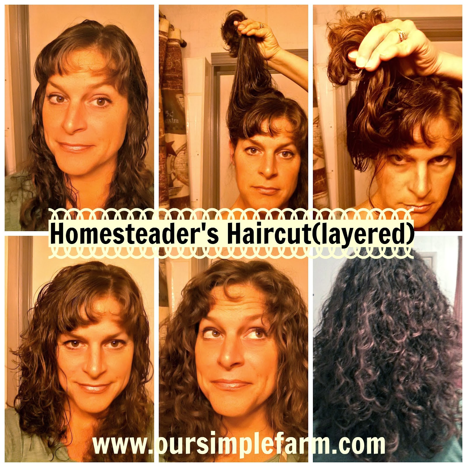 The Homesteaders Haircut How To Cut And Layer Your Hair Our