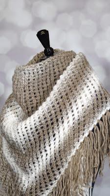 free knit shawl pattern