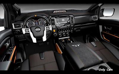 Fotos Interior Nissan Titan