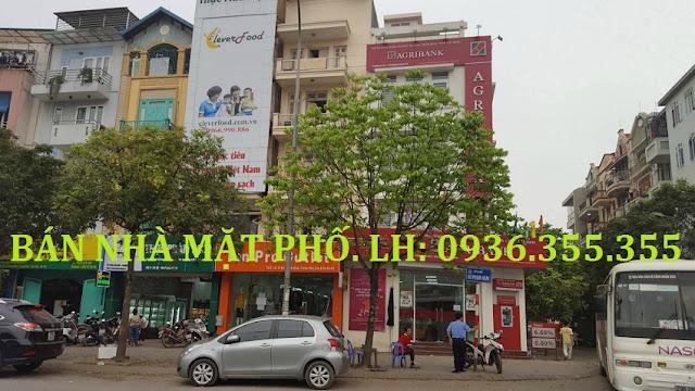 Bán nhà mặt phố Vũ Phạm Hàm, Trung Yên 1