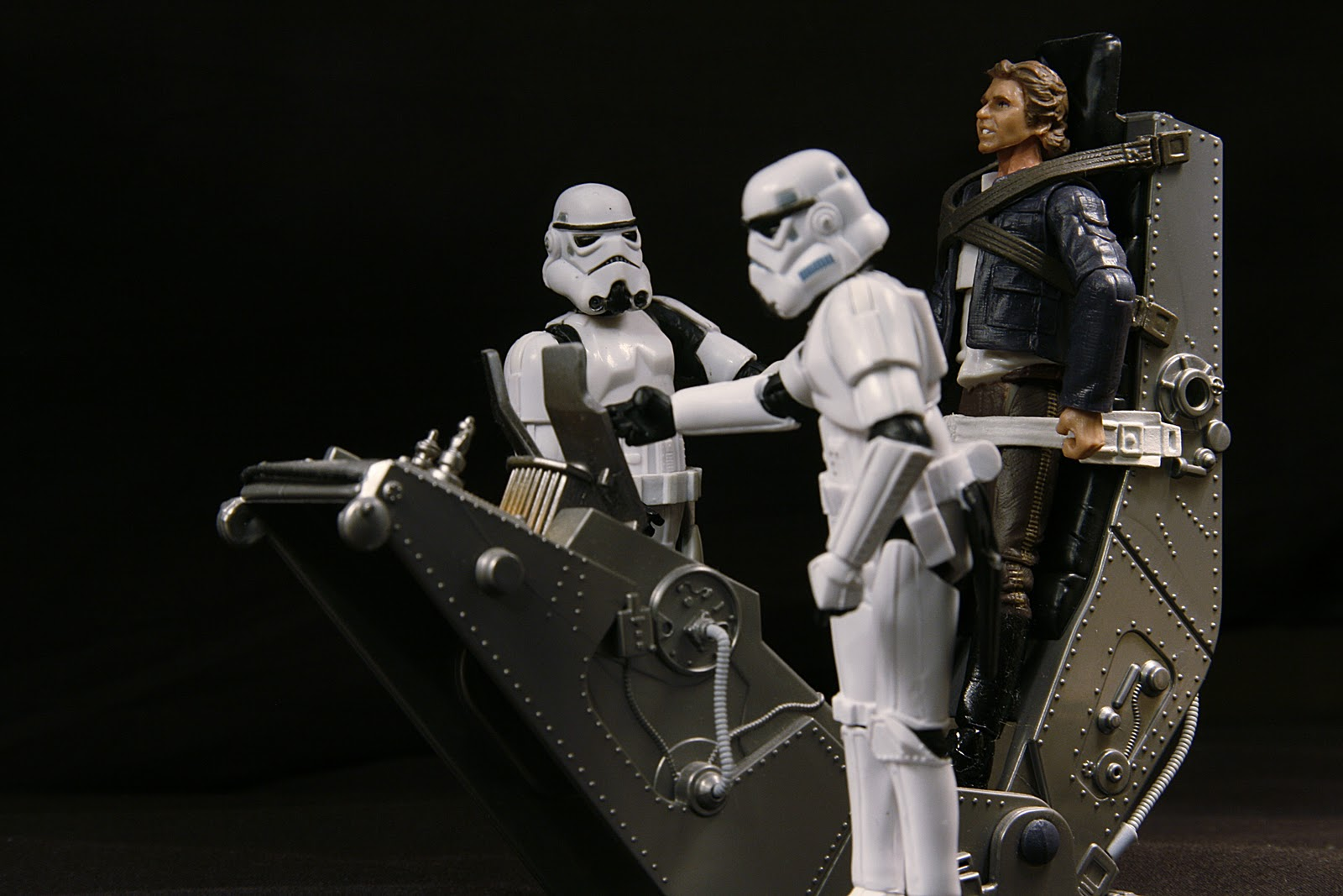 Han Solo On Torture Rack Action Figure