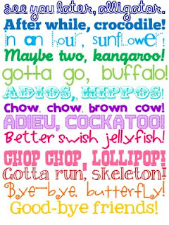 Children Learning English Affectively: Great ways to say goodbye ...