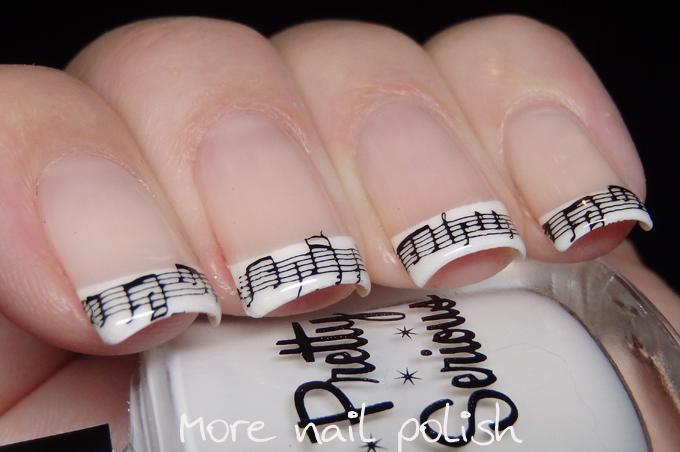 Nail art ideas for music more nail polish nail art ideas for music prinsesfo Images