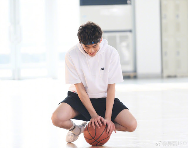 Wu Lei 2018 basketball
