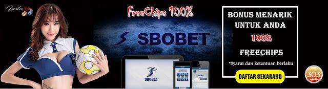 Bonus FreeChips 100% Sportbook 25k Khusus Member Baru Dari Insta88