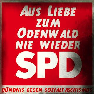 ...das desaströse Scheitern der SPD