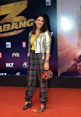 Sunny Leone at Dabangg 3 Premiere HeyAndhra.com