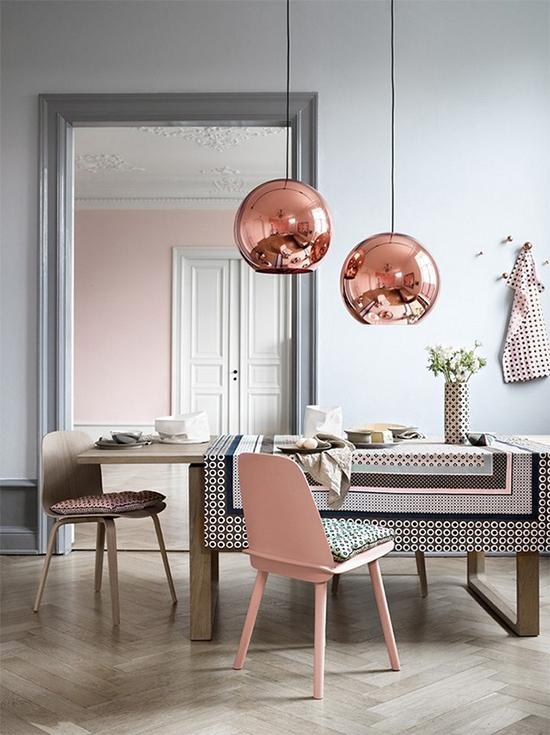 pantone 2016, rosa quartzo, azul serenidade, rose quartz, serenity, comoda colorida, parede colorida, quarto, bedroom, decoração, copa