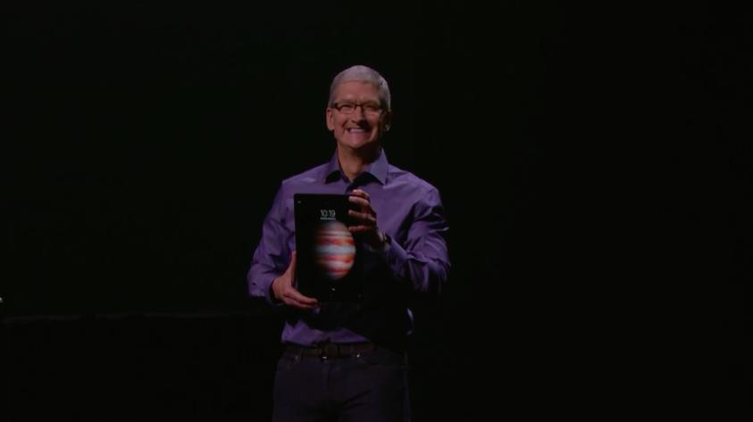 12.9吋iPad Pro現身,翻版Surface Pro意味濃厚