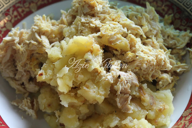 Begedil Ayam Untuk Nana