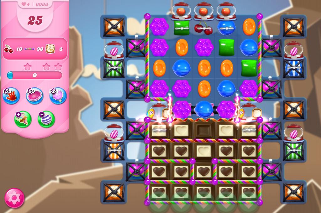 Candy Crush Saga level 6033