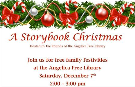 12-7 A Storybook Christmas, Angelica NY