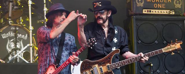 Phil Campbell Lemmy Motorhead
