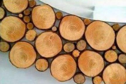 cmo decorar un espejo con madera