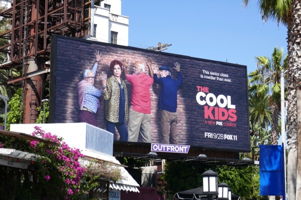 Cool Kids TV series billboard