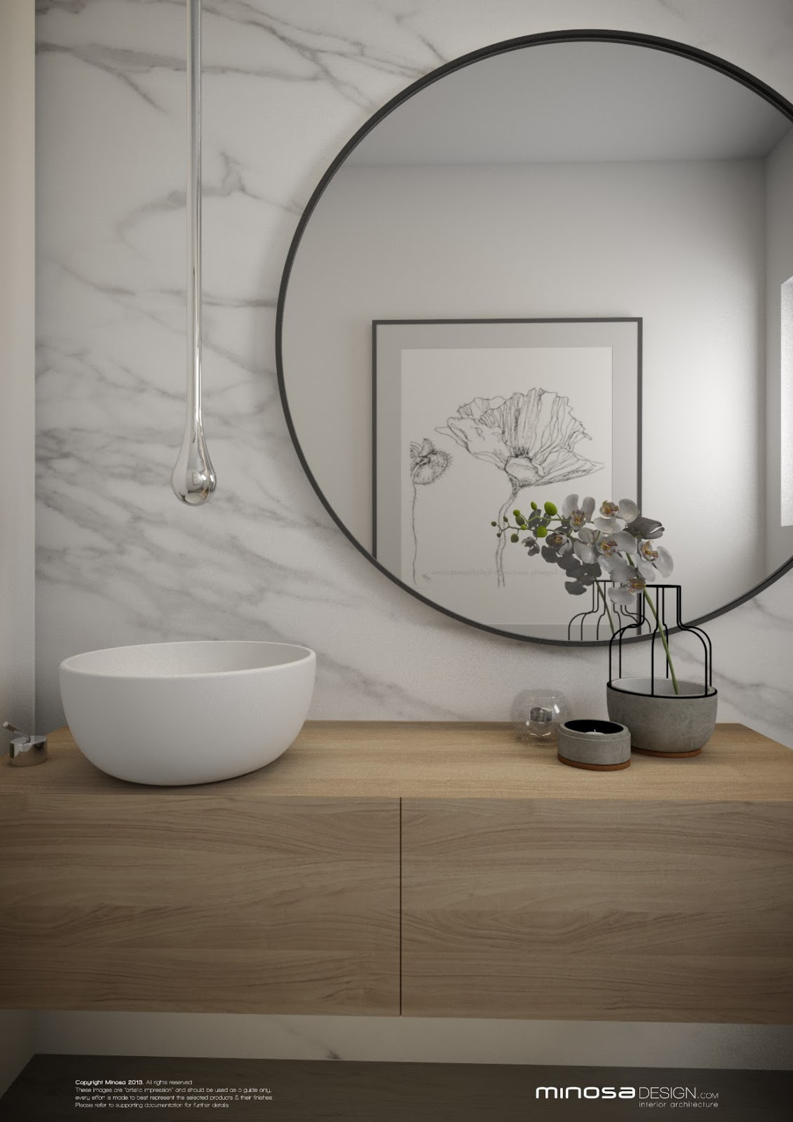 Toilet Room Designs: Minosa: Powder Room