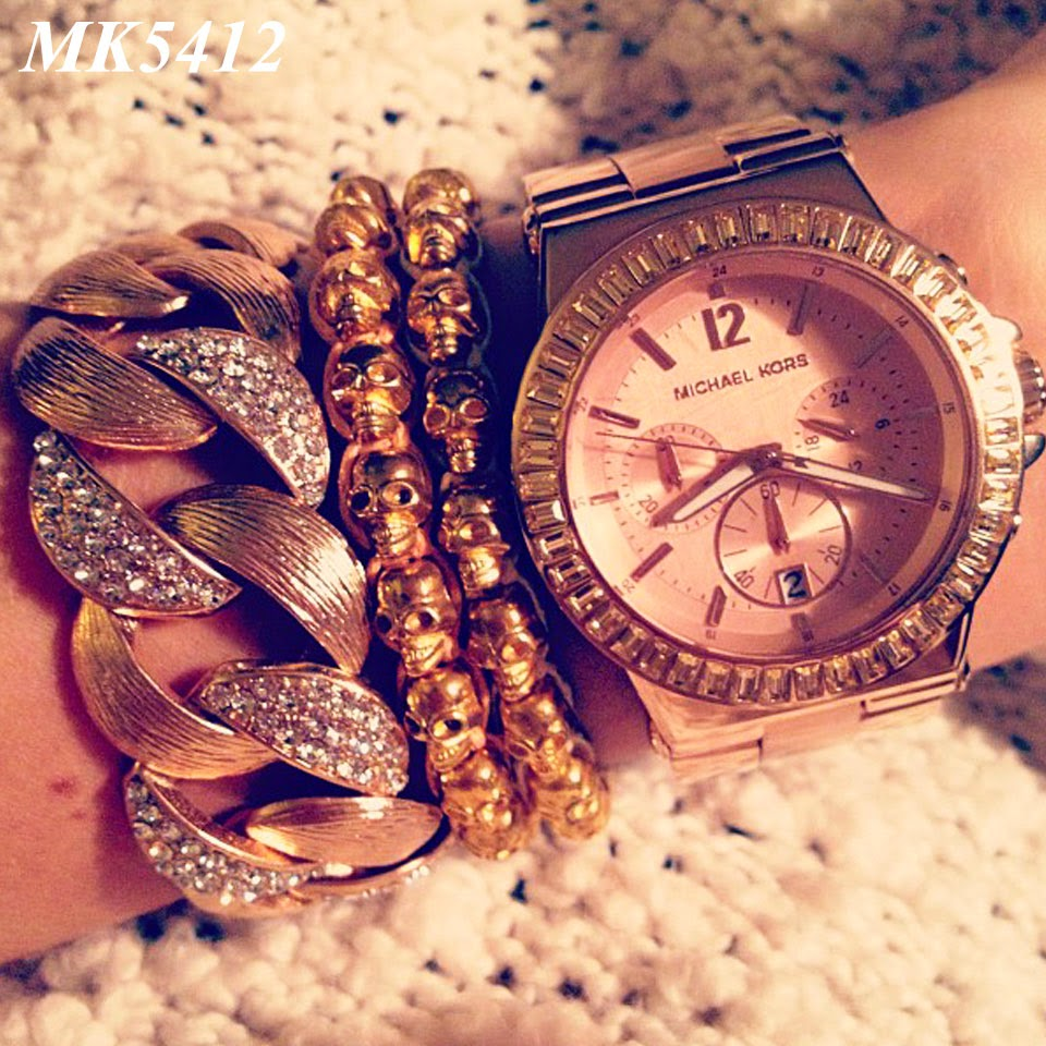 Relógio Michael Kors MK5412 Rosê aa785b116e