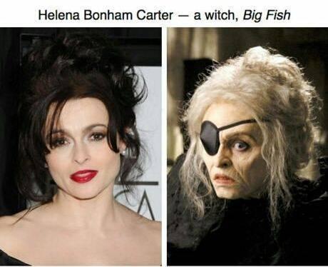 Helena Bonham Carter - Artis Cantik Hollywood Rela Tampil Jelek Demi Peran