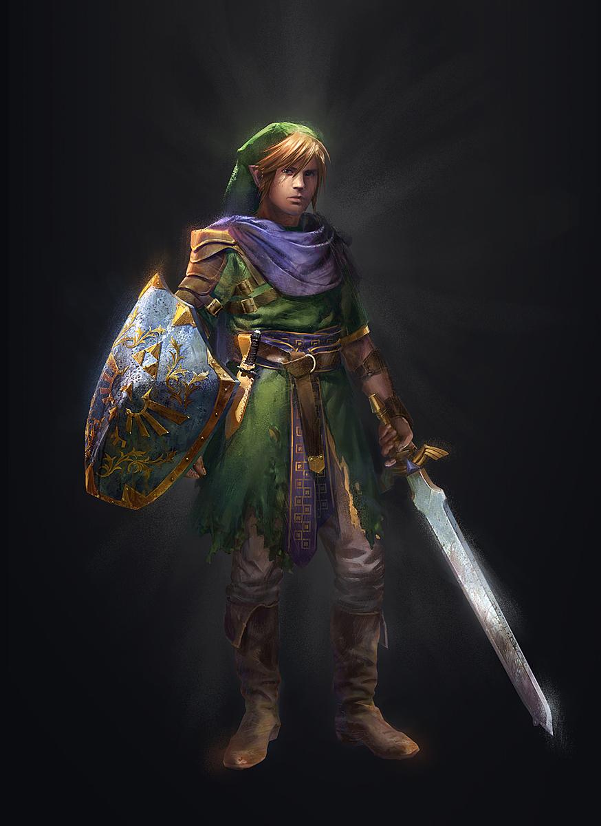 The Legend Of Zelda: Ocarina Of Time Illustrations
