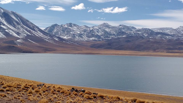 lakes of Atacama desert