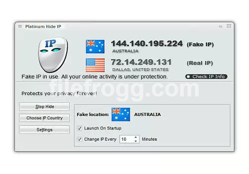 RIALSOFT.com - Platinum Hide IP Terbaru 3.4.5.8 Final Full Patch