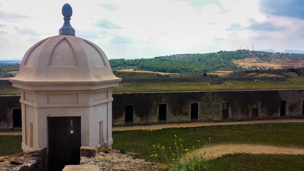 Panorámica Castillo de San Fernando
