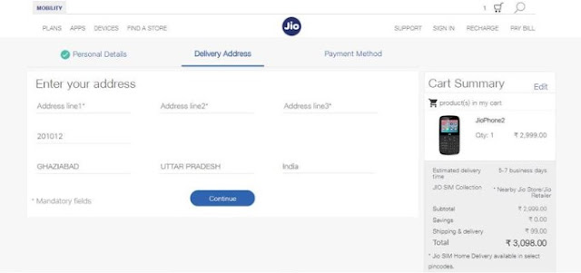 How To Buy JIO Phone 2 Online