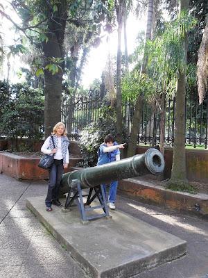 parque Lezame; Buenos Aires; viajando pela America Latina; Museu histórico Nacional