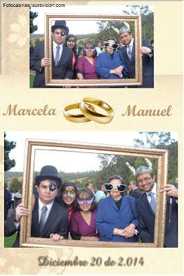 Fotocabinas para bodas en  el Salitre