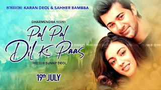 Download Pal Pal Dil ke Paas (2019) Hindi Movie