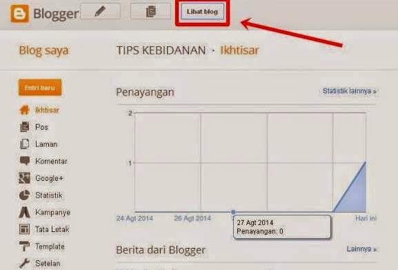Cara Mudah Membuat Blog Untuk Pemula 6