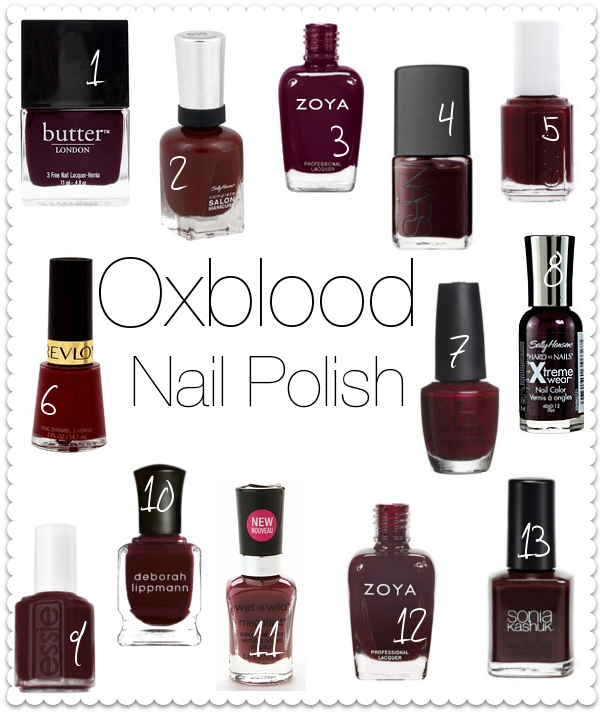 Annabelclaire Beauty And Lifestyle There Will Be Oxblood