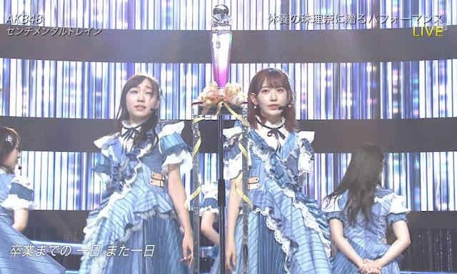 AKB48 Sentimental Train Music Day Perform Live
