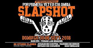 Concierto de SLAPSHOT y In the other climes en Bogota 1
